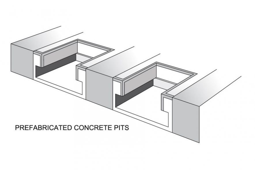 Pre-fabricated Concrete Pits